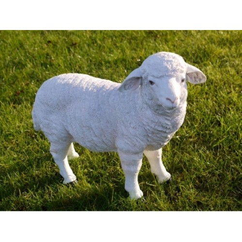 Sheep/Lamb Standing Garden Ornament Statue