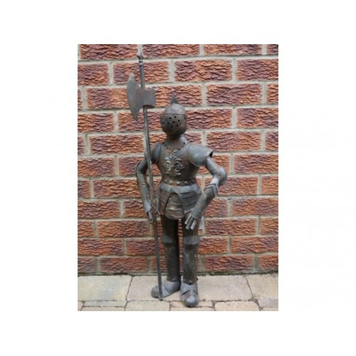 Small Suit Of Armour Garden Or Home Statue
