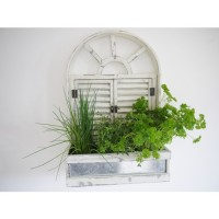 French Garden Wall Herb Display Planter Baskets