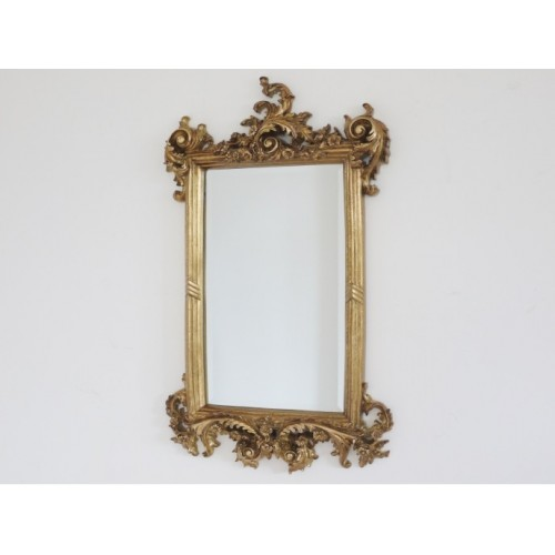 Gold Orate Shabby Chic Indoor Wall Mirror