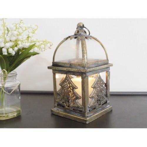 Christmas Tea Light Freestanding Lantern Holder