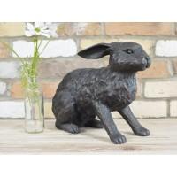Resin Rabbit Sculpture Garden Ornament