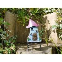 Treehouse Fairyhouse Outdoor Garden Ornament