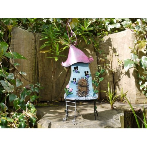 Treehouse Fairyhouse Outdoor Garden Ornament