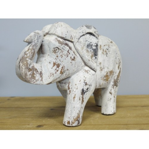 A Charming White Indian Elephant Ornament
