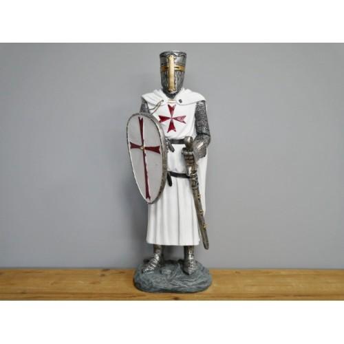 English Crusader Medieval Knight Statue